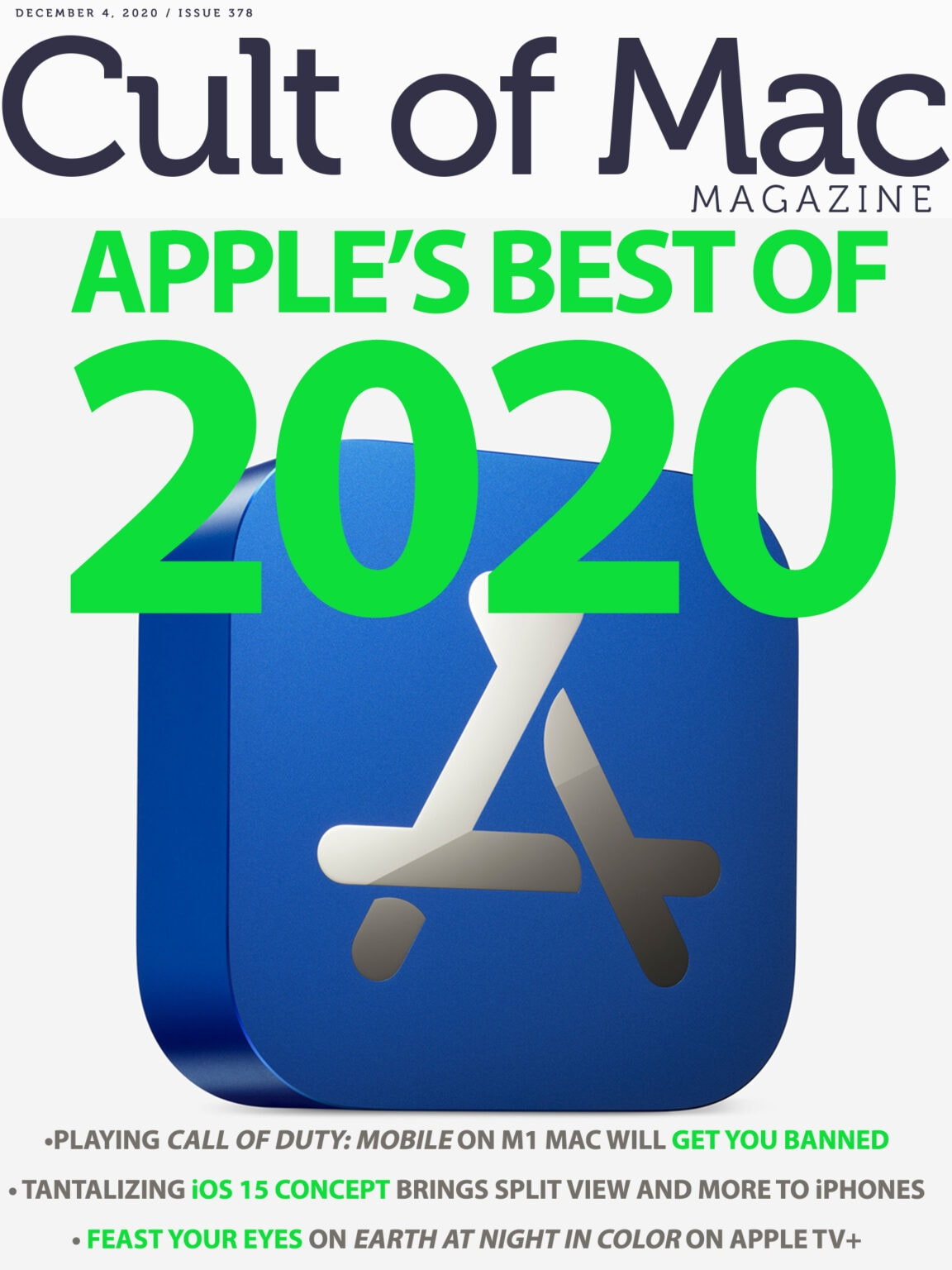 Apple picks the year's winners.