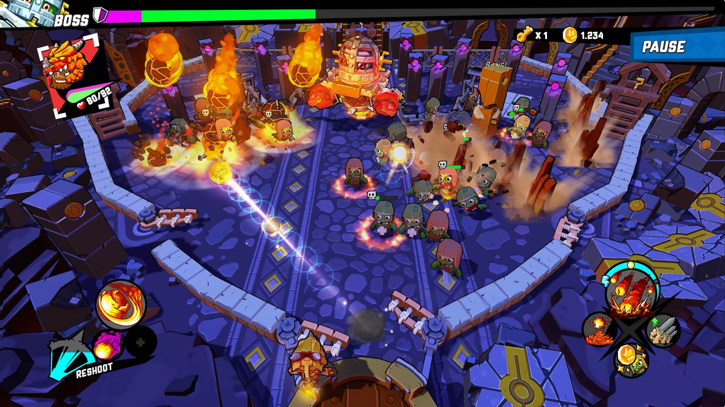 You'll flipper out over new Zombie Rollerz: Pinball Heroes on Apple Arcade