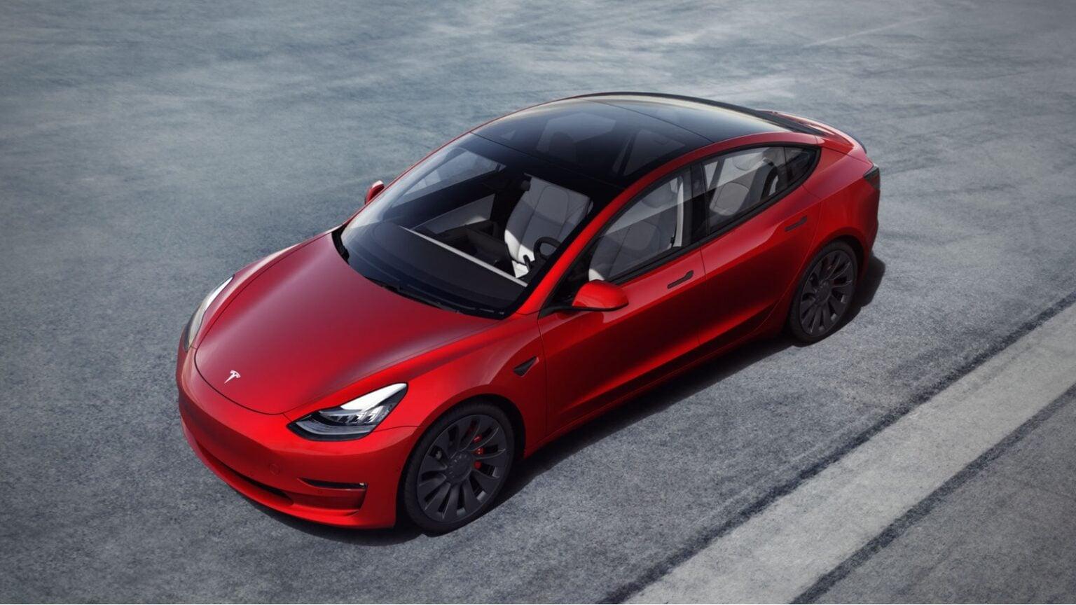 The Tesla Model 3 is the company's sedan