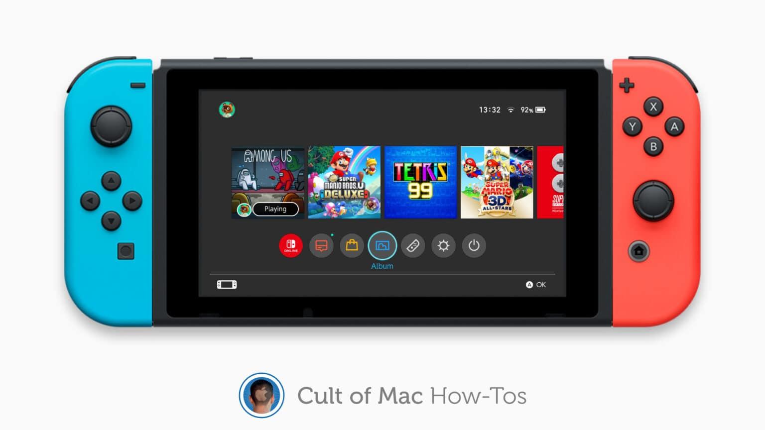 How to share Nintendo Switch screenshots