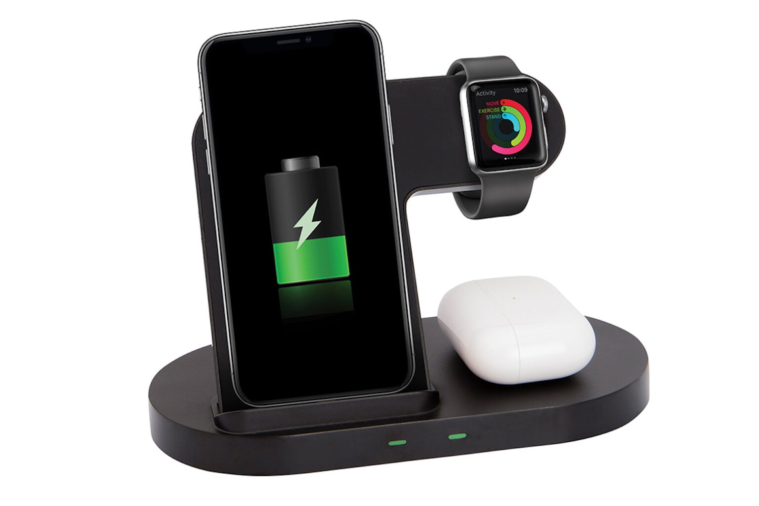 This 4-in-1 charging stand will charge up your iPhone, AirPods Apple Watch and more.
