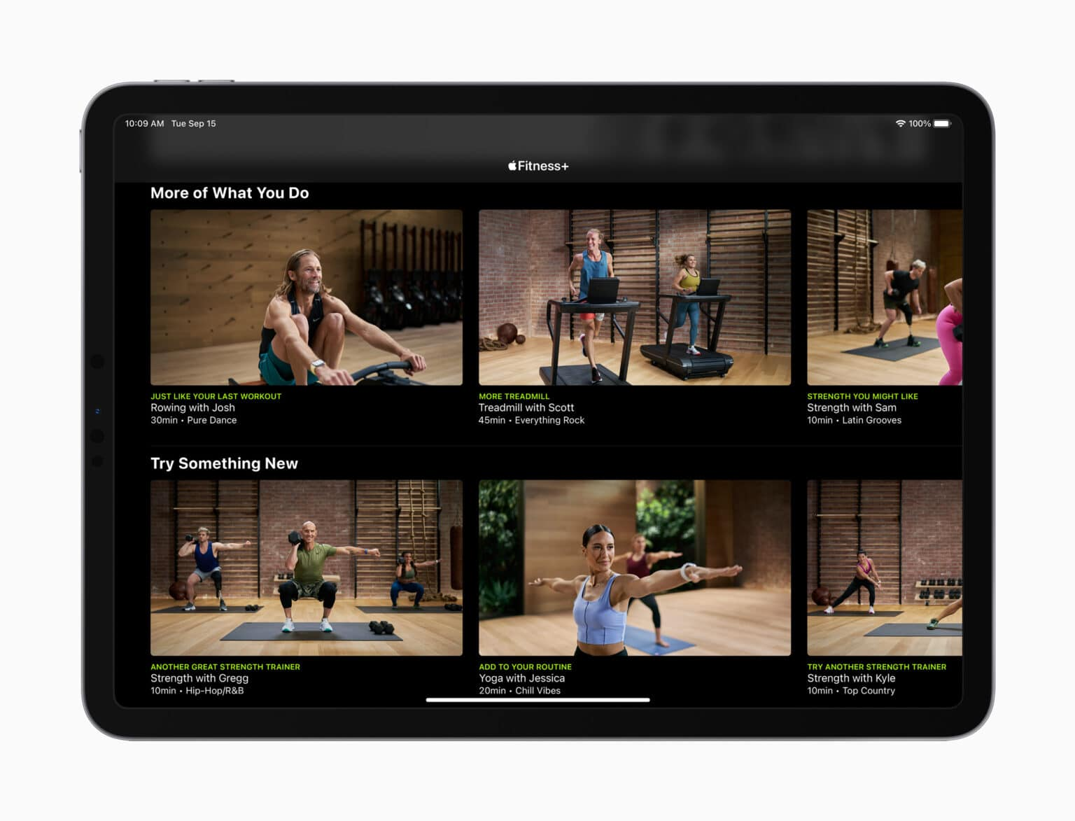Apple Watch is key to the new Apple Fitness+ subscription service.