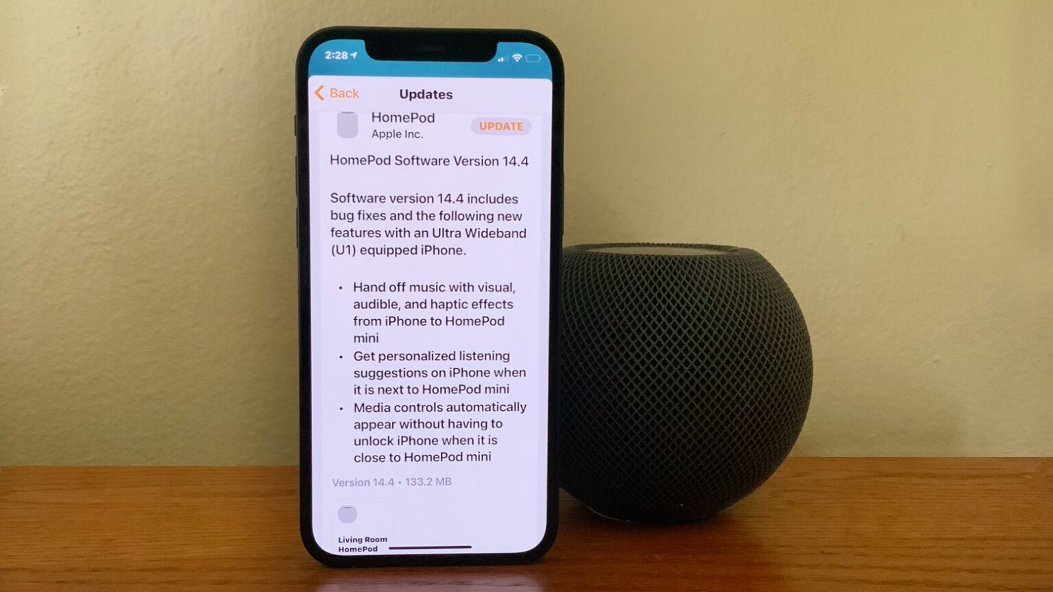 HomePod Software Version 14.4 debuted January 26.