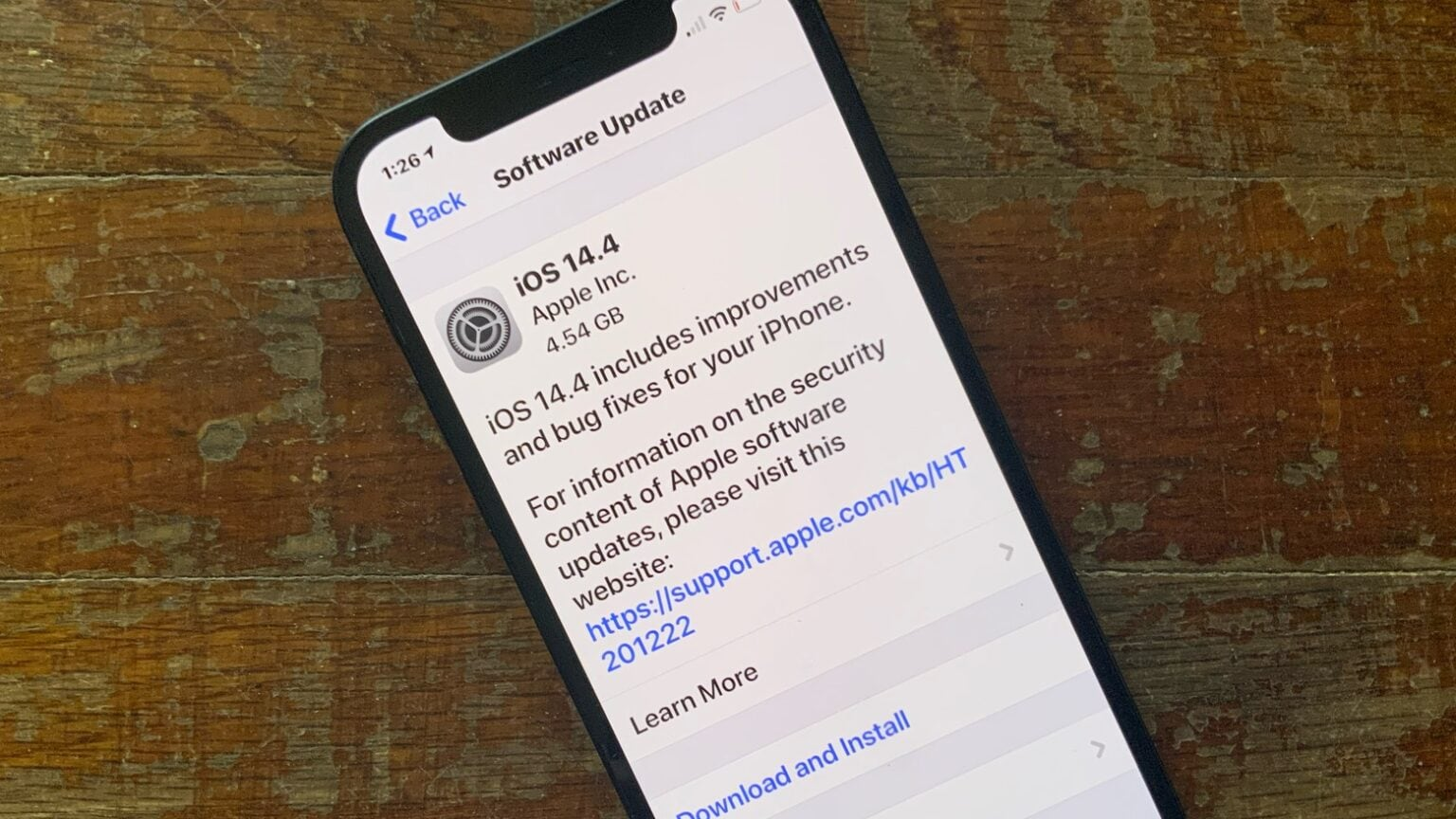 iOS 14.4 debuted to the general public on Tuesday.