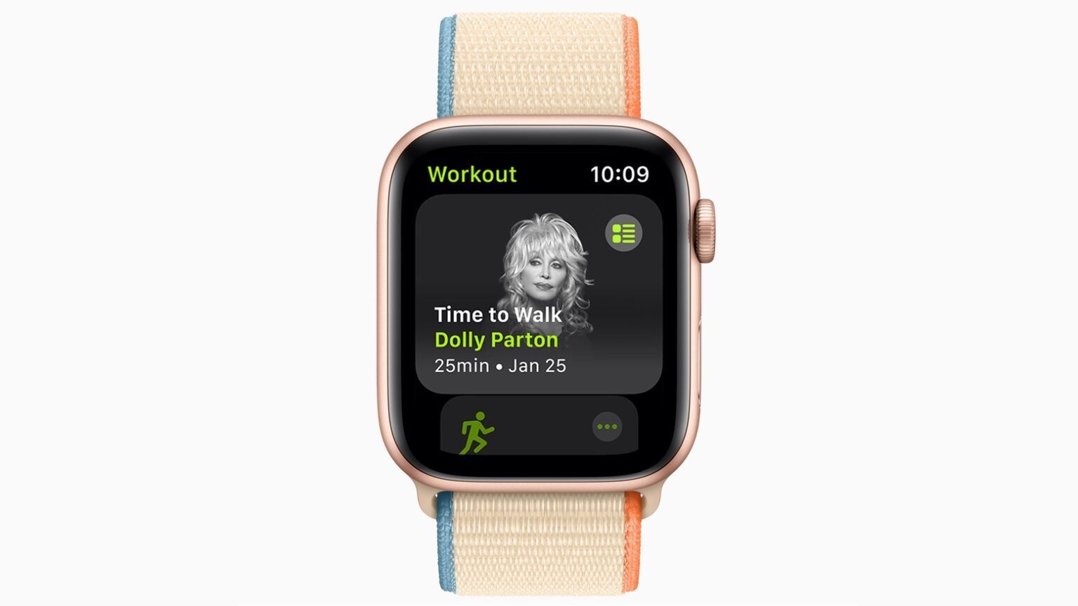 Time to Walk in Apple Fitness+ makes exercise