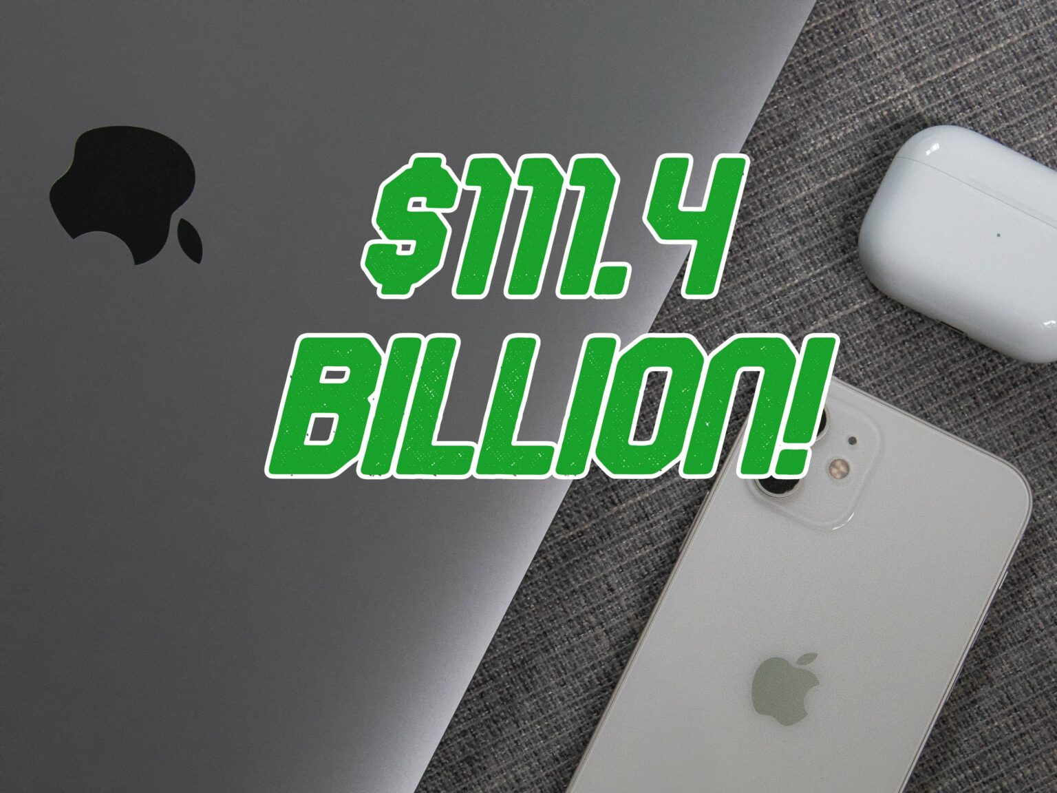 Apple roars through another record-setting financial quarter, with a massive $111.4 billion in revenue for Q1 2021.