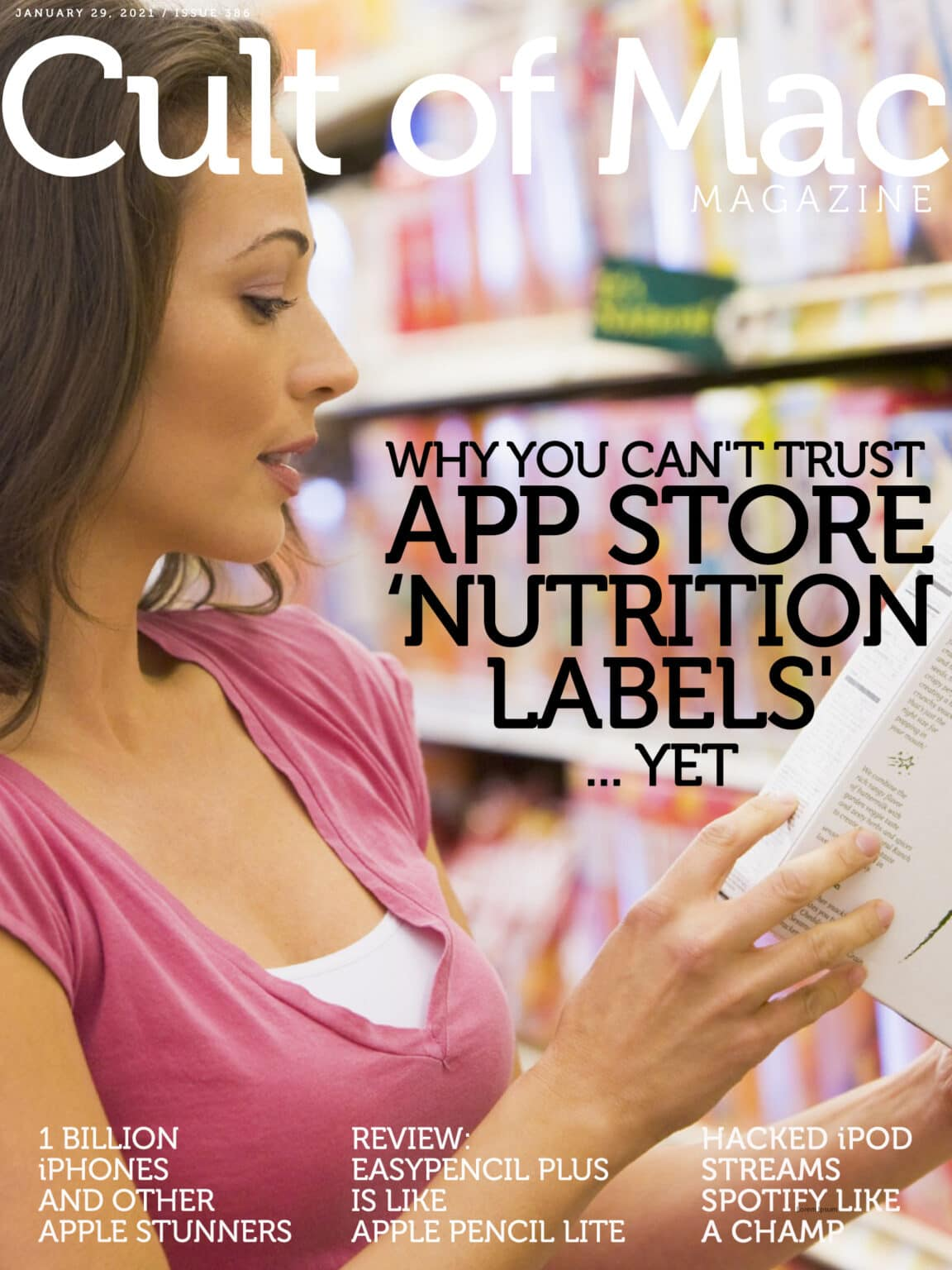 App Store nutrition labels: You can't trust everything you read.