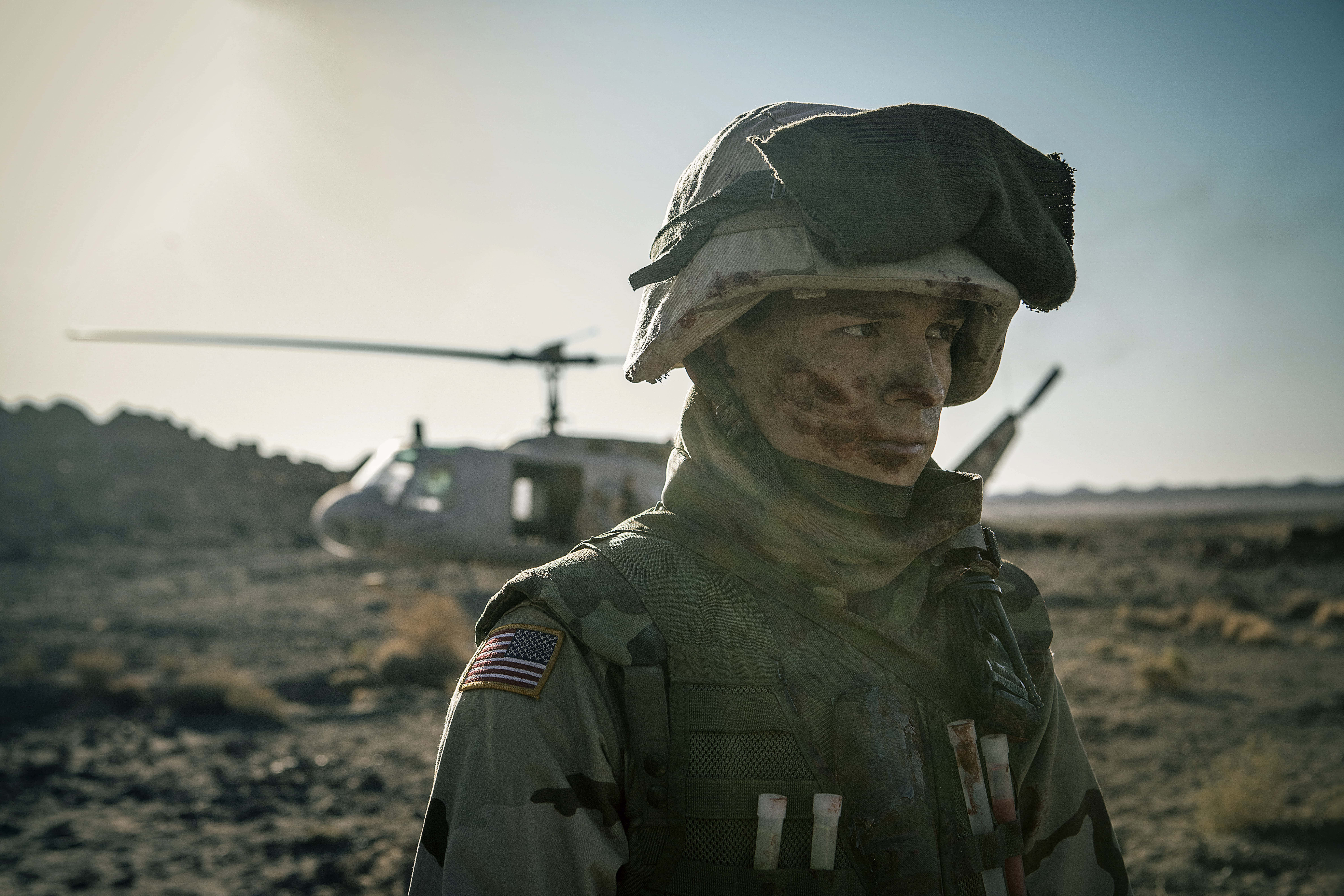 Tom Holland plays Cherry, an Army vet with some serious problems in Cherry on Apple TV+
