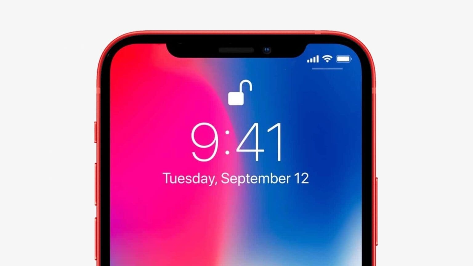 The iPhone 13 notch could go on a diet.