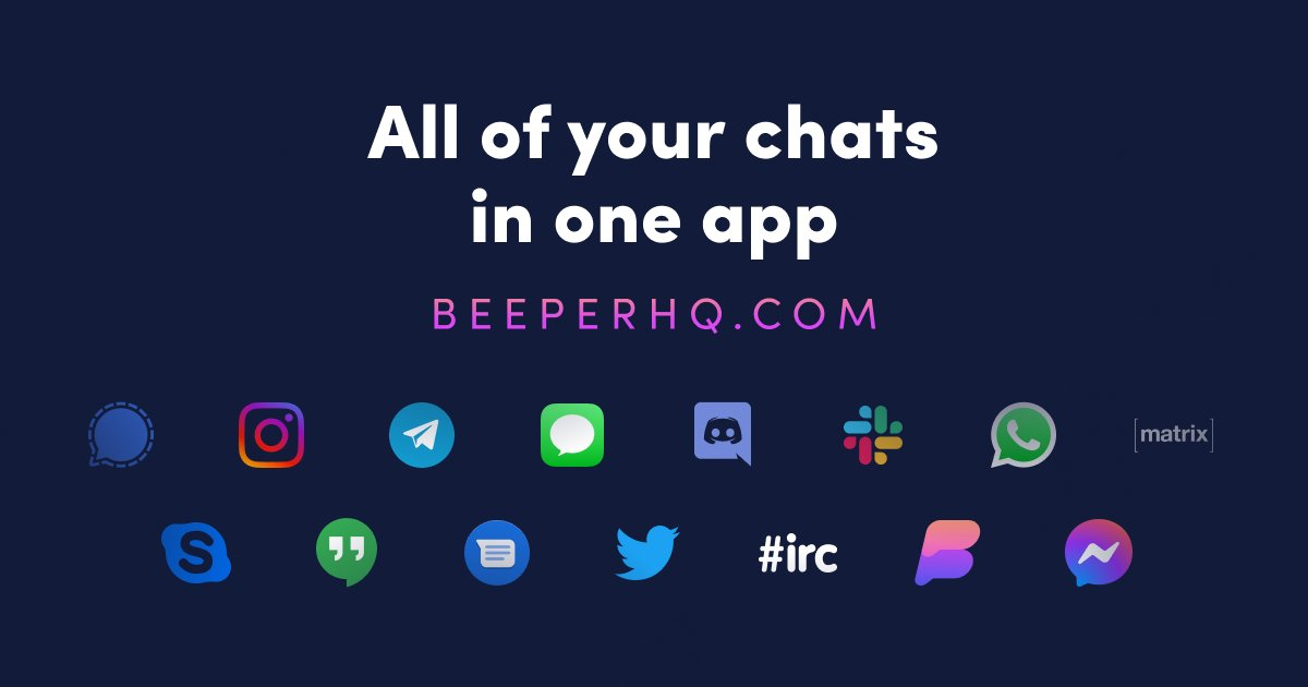 Beeper brings iMessage to Android and Windows