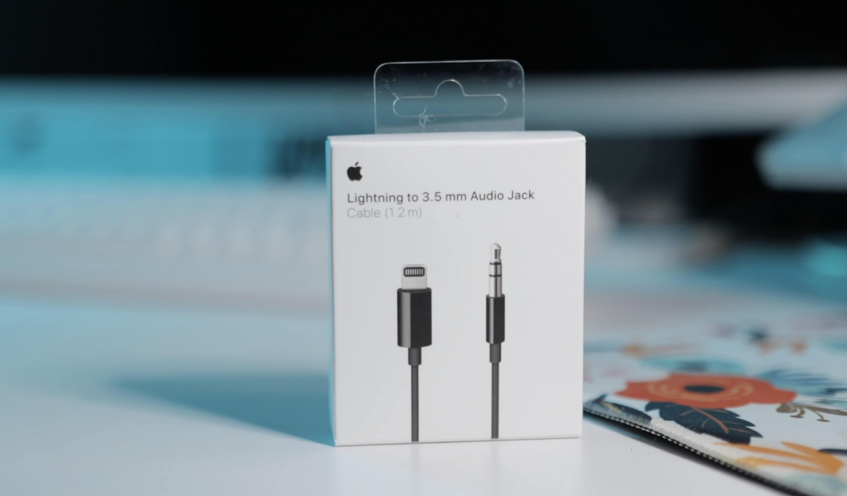 Lightning to 3.5mm aux cable: This $35 cable is the only way to add a wired connection to AirPods Max. It should come packaged with the headphones.
