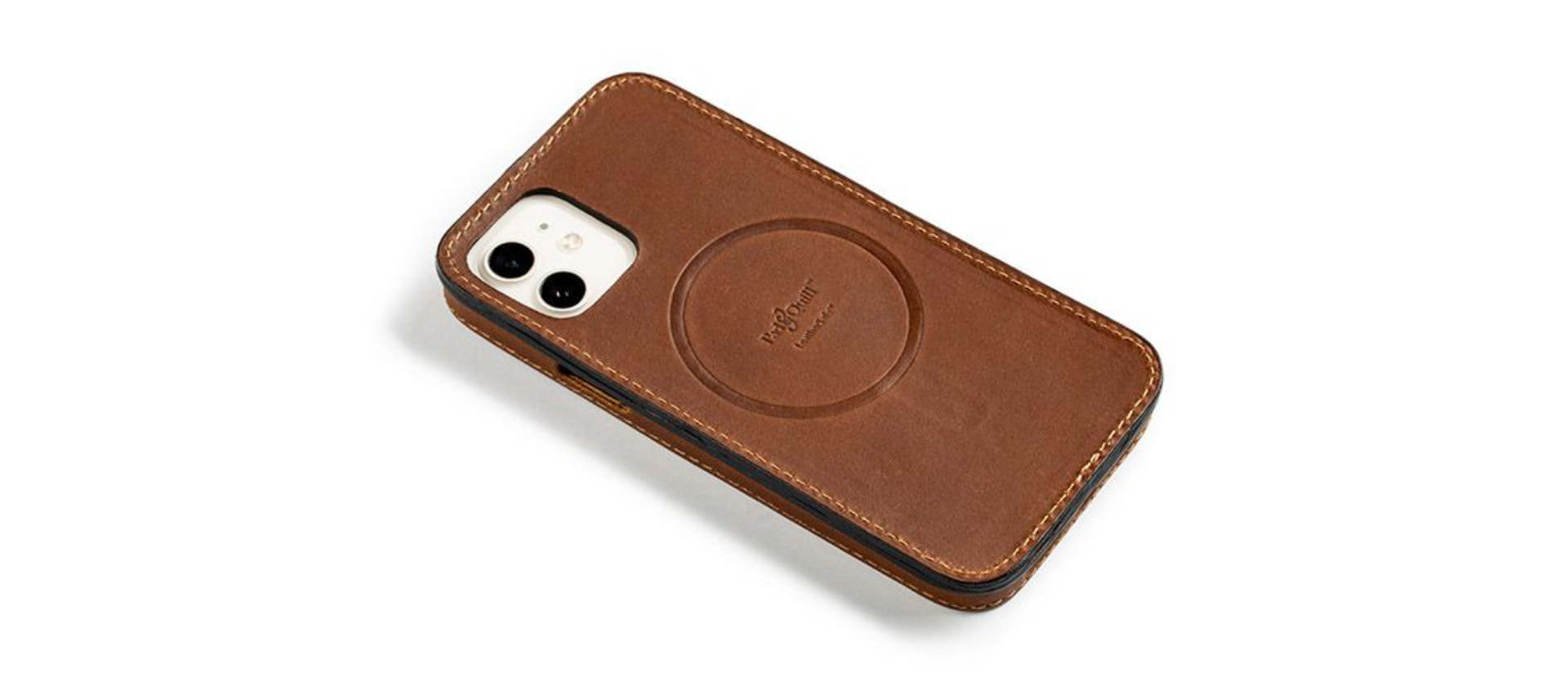 Pad & Quill LeatherSafe case for iPhone 12