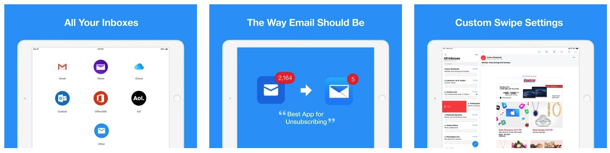 Edison Mail adds iOS email widgets