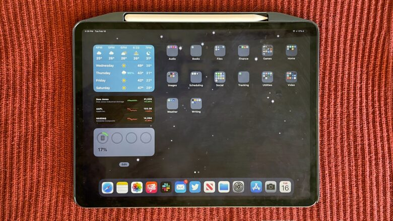 SwitchEasy CoverBuddy fits an iPad Pro very tightly.