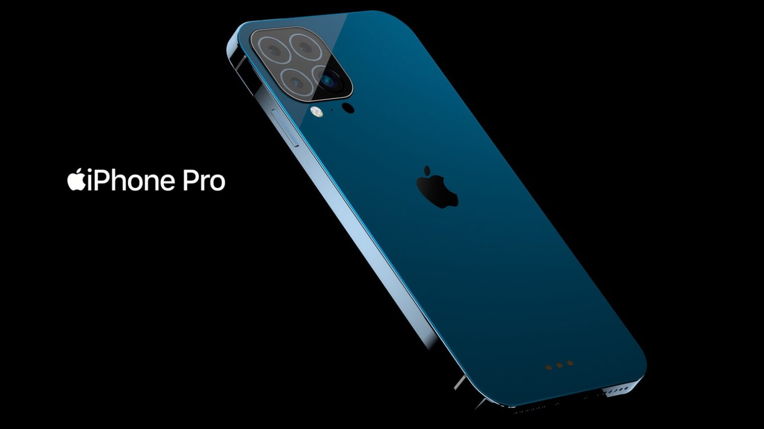 Eye-catching iPhone Pro concept adds smart connector, drops Lightning port