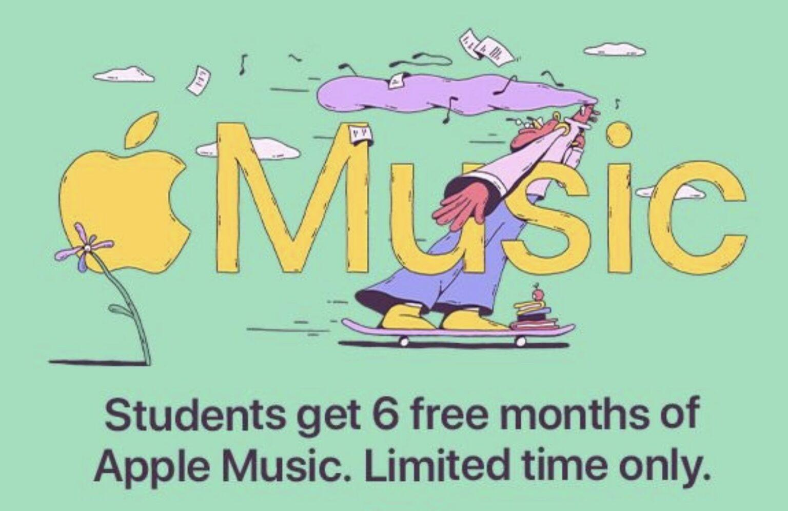 Apple Music student deal