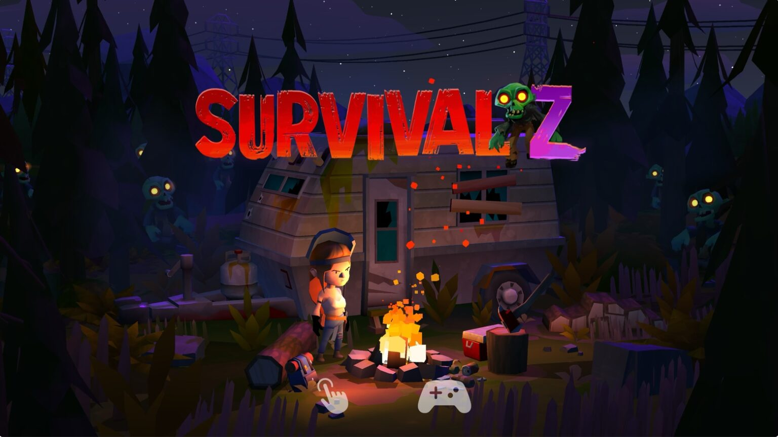 Blast through zombie hordes in 'Survival Z' on Apple Arcade
