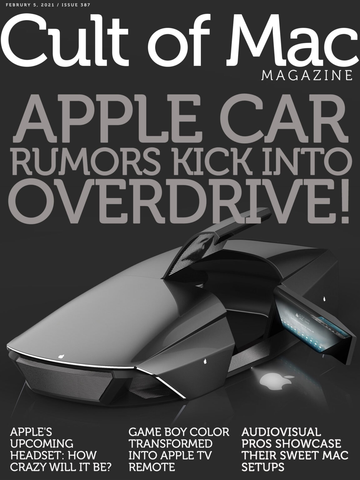 Apple car rumors shift into overdrive.