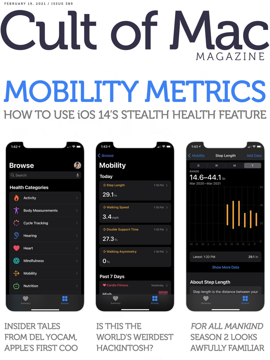 Learn to use Mobility Metrics, the iPhone's stealth fitness feature.