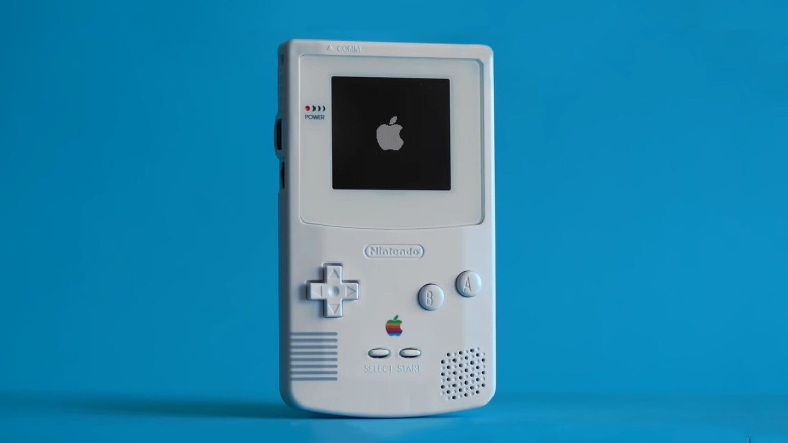 Not every Game Boy Color sits in a drawer. This one became an Apple TV remote.