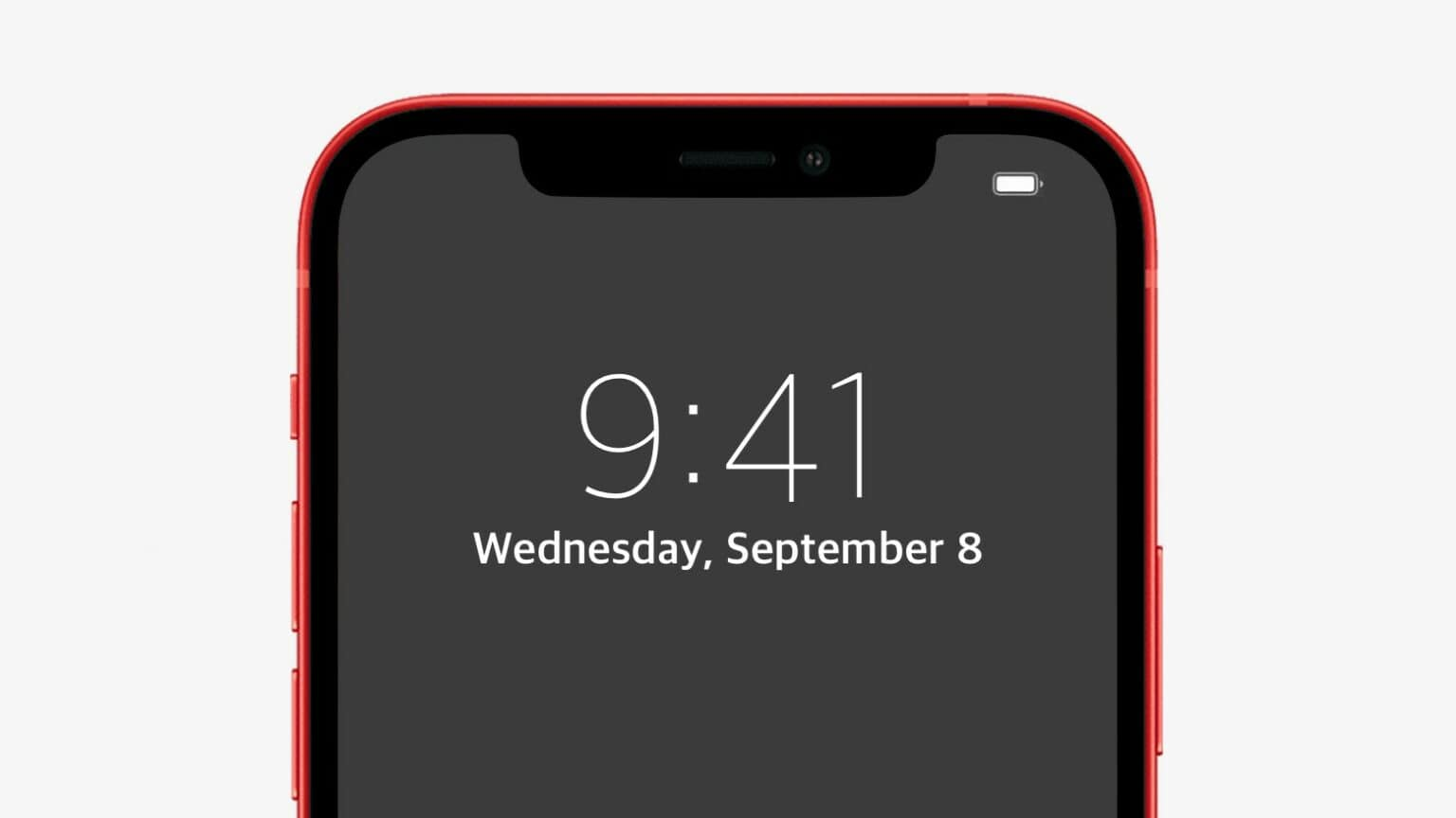 A signature feature of the iPhone 13 might be an always-on display.