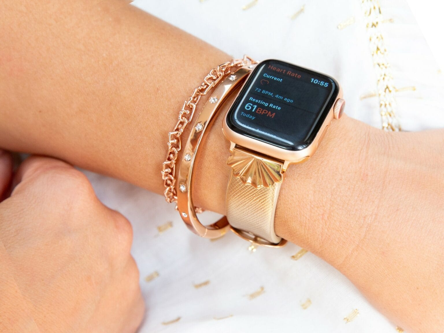 Goldenerre Starburst band for Apple Watch