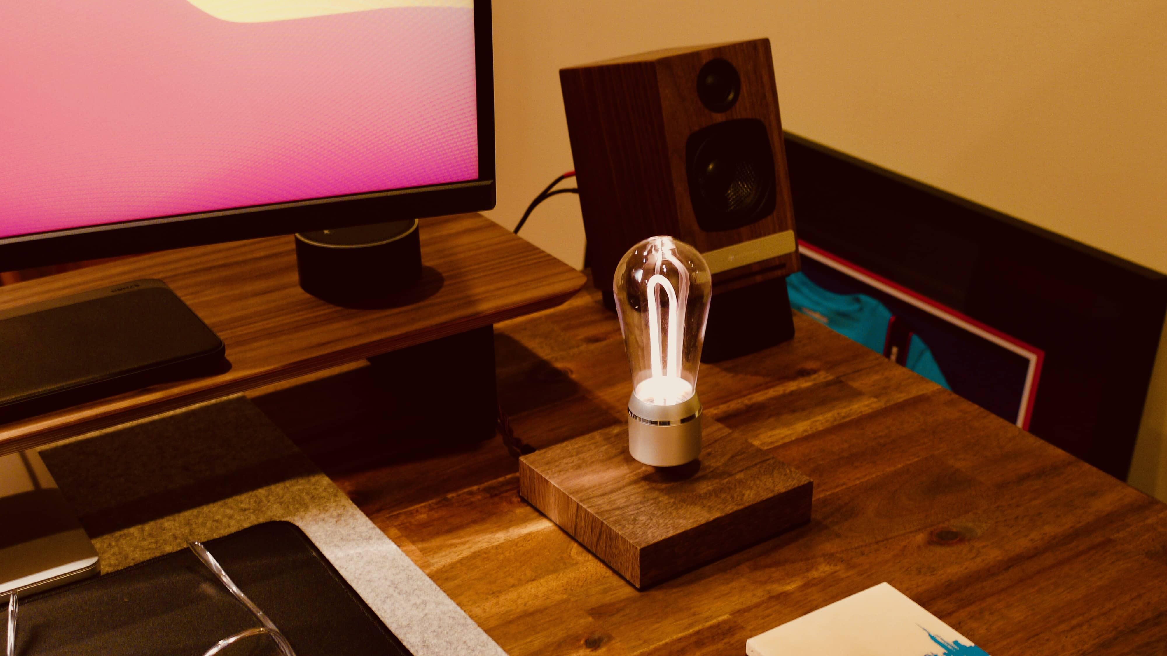 A Flyte Nikola Levitating LED Light? Well, that's cool.