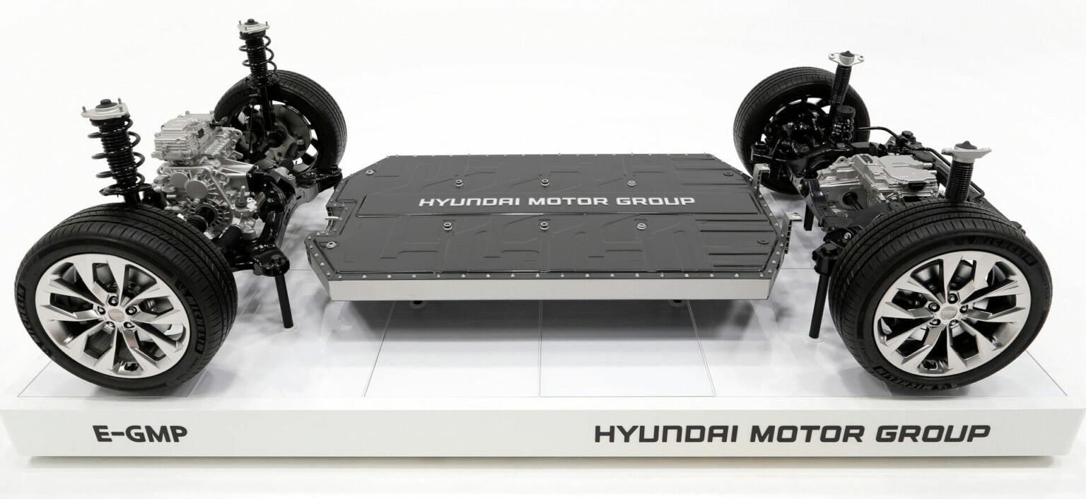 Hyundai's E-GMP platform is like a Lego base for electrical vehicles.