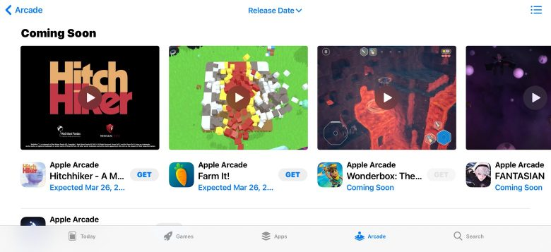 Here's what's coming soon to Apple Arcade.