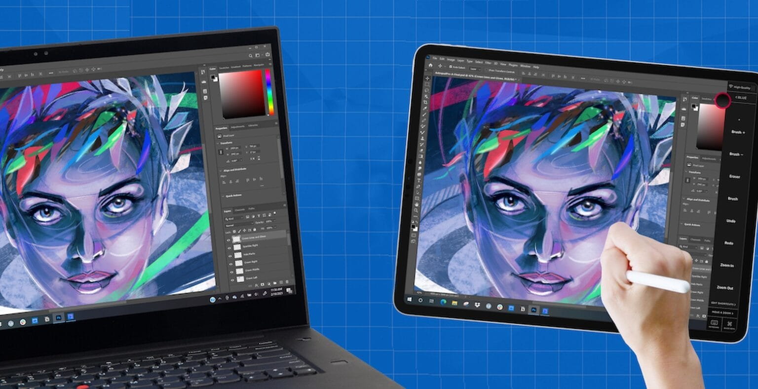 Astropad Studio on Windows lets your iPad become a drawing pad for Windows apps.