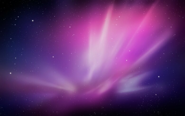 macOS X Leopard wallpaper started a new space theme.