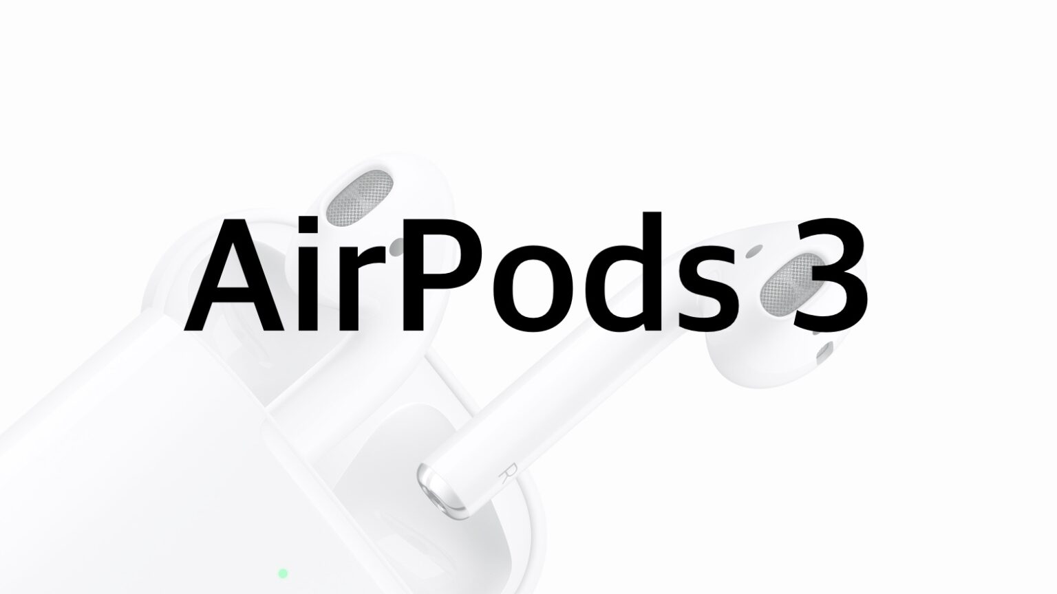 AirPods 3 might borrow some features of AirPods Pro.