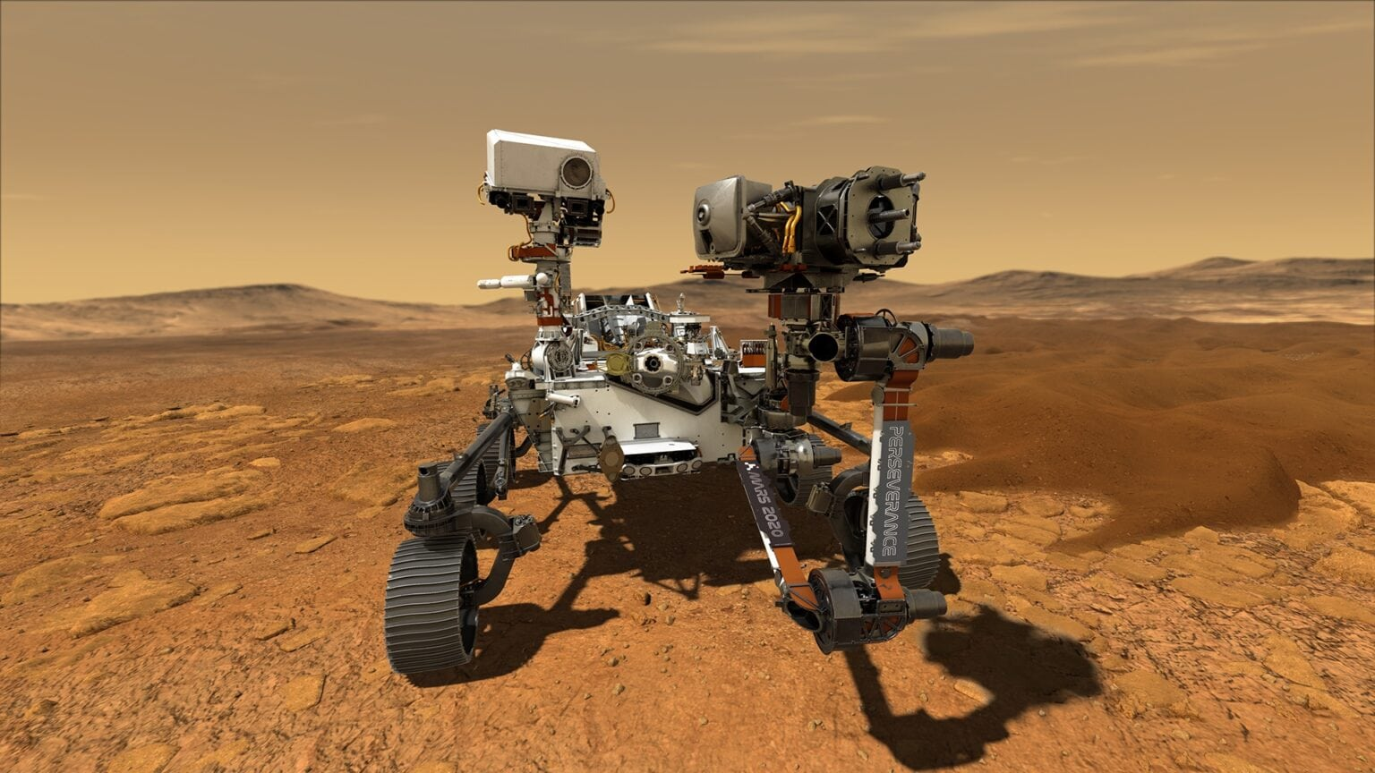 Perseverance rover tools around Mars with '90s iMac processor for its brain