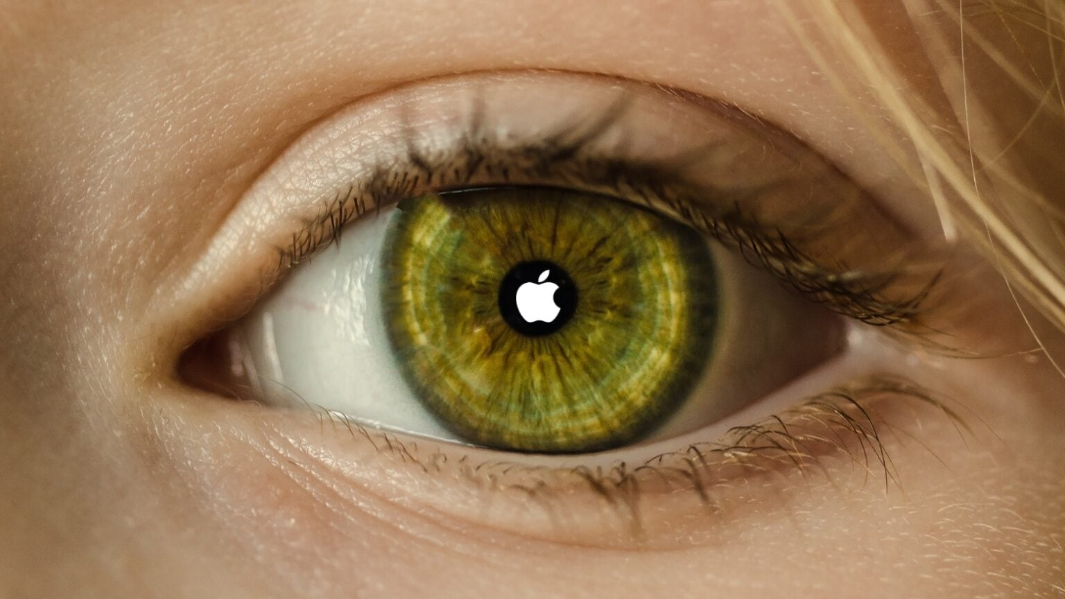 The eventual culmination of Apple augmented reality efforts will be AR contact lenses