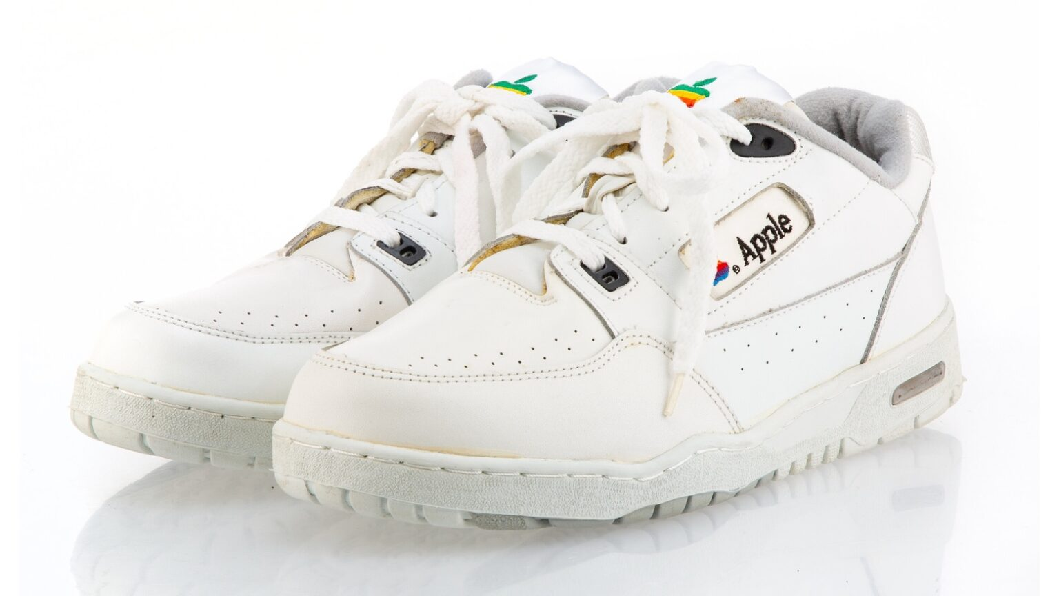 These ultra-rare Apple Computer Sneakers might auction for big bucks