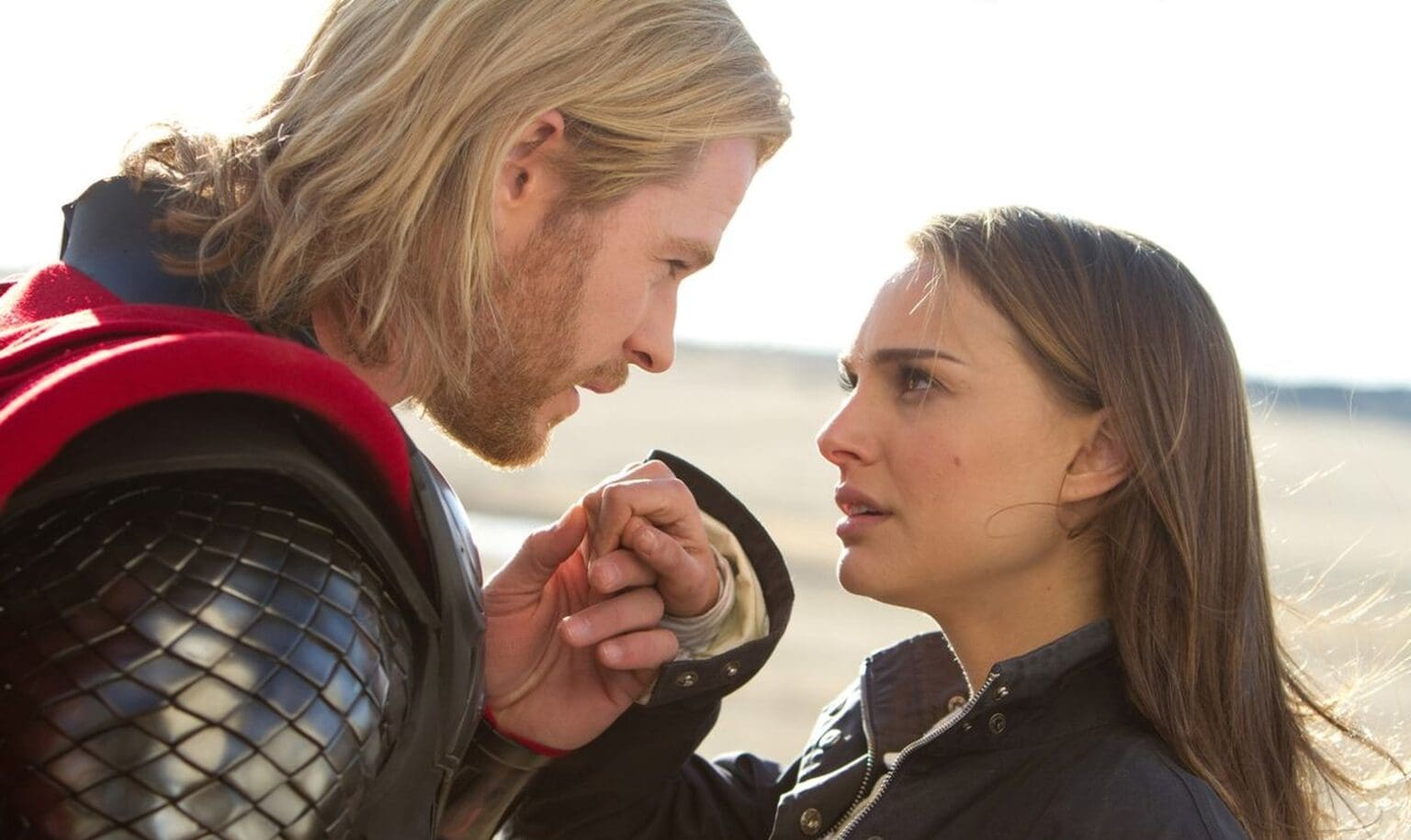 Natalie Portman and Apple are working together like Thor and Jane Foster.
