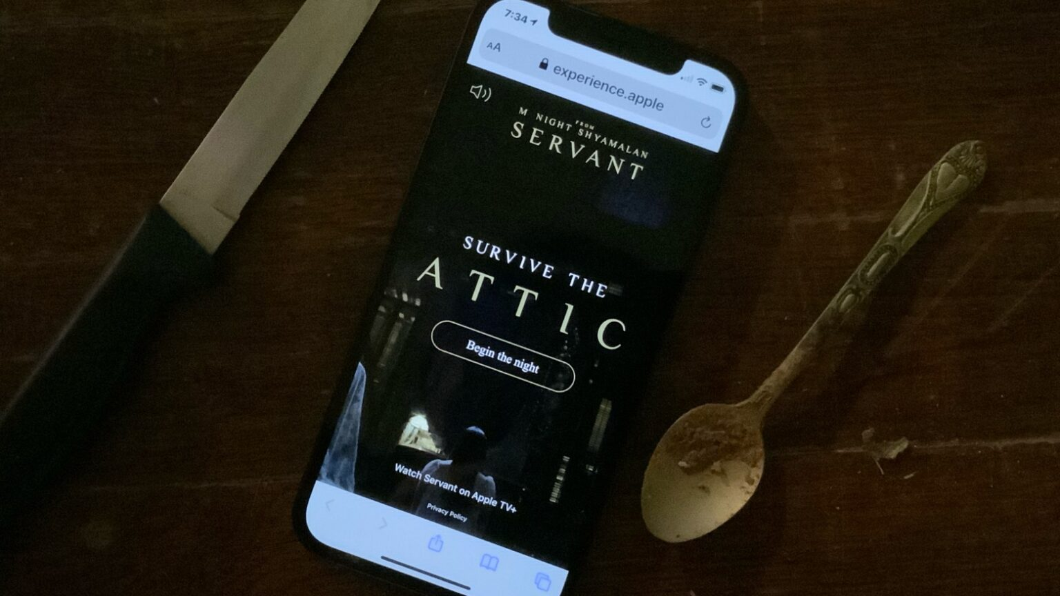 Play 'Escape the Attic' as you wait for the 'Servant' season finale on Apple TV+.