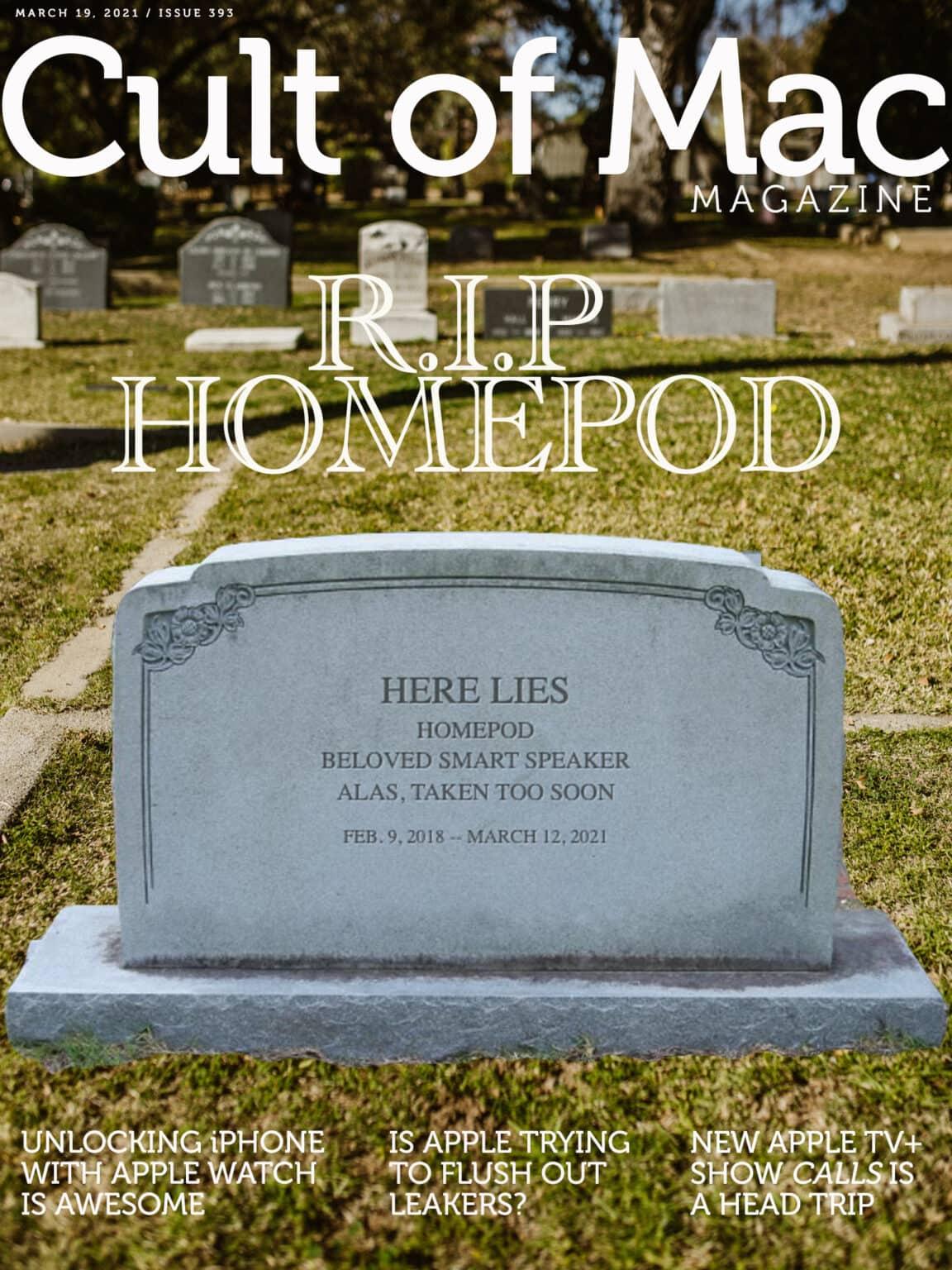 R.I.P. HomePod.
