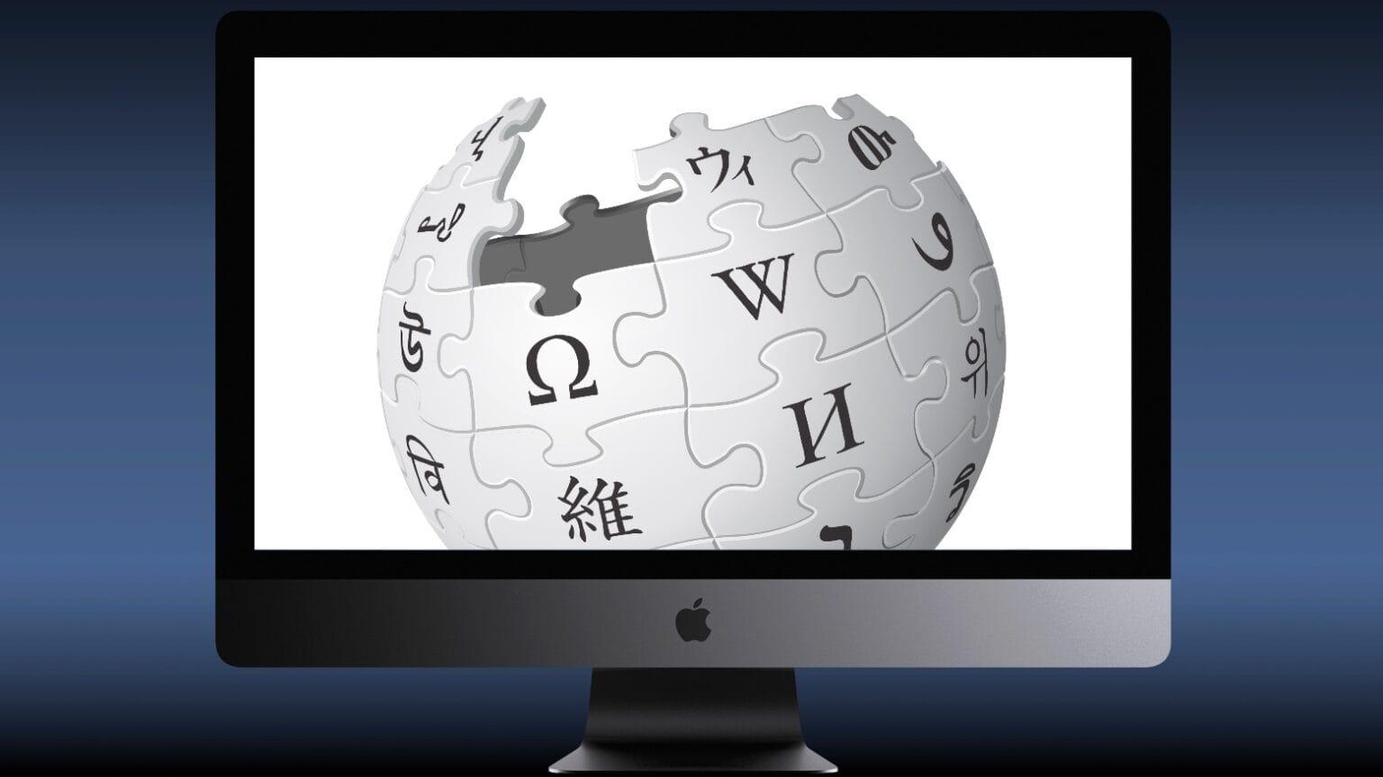 Apple depends on Wikipedia