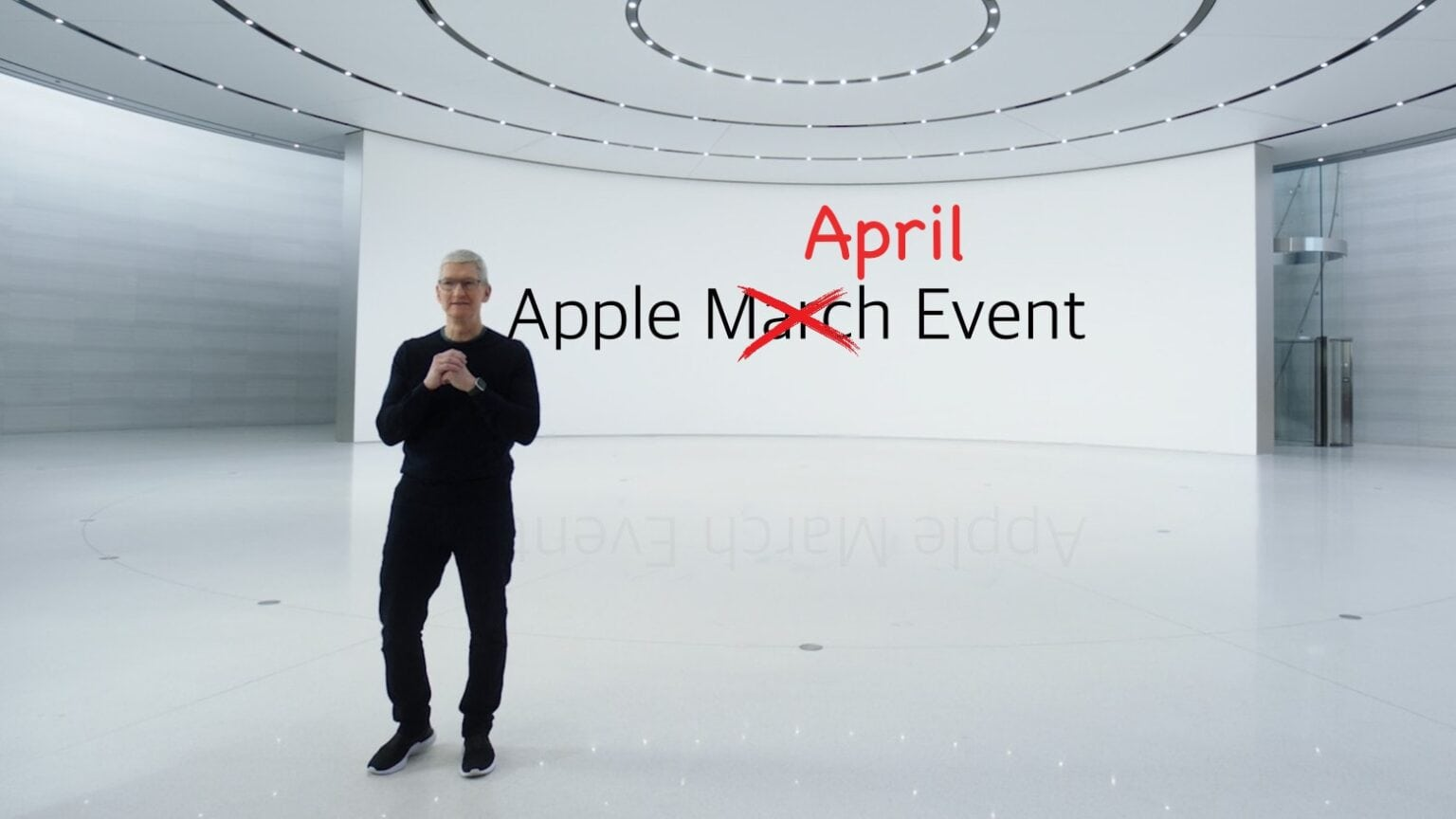 Apple April Event — Oops!