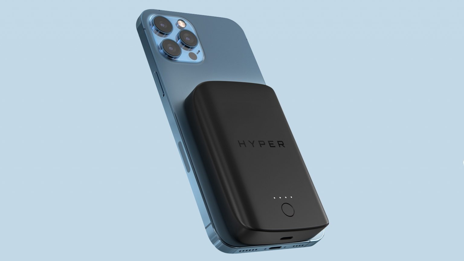 HyperJuice Magnetic Wireless Battery Pack for iPhone 12 adds 5000mAh to your handsets.