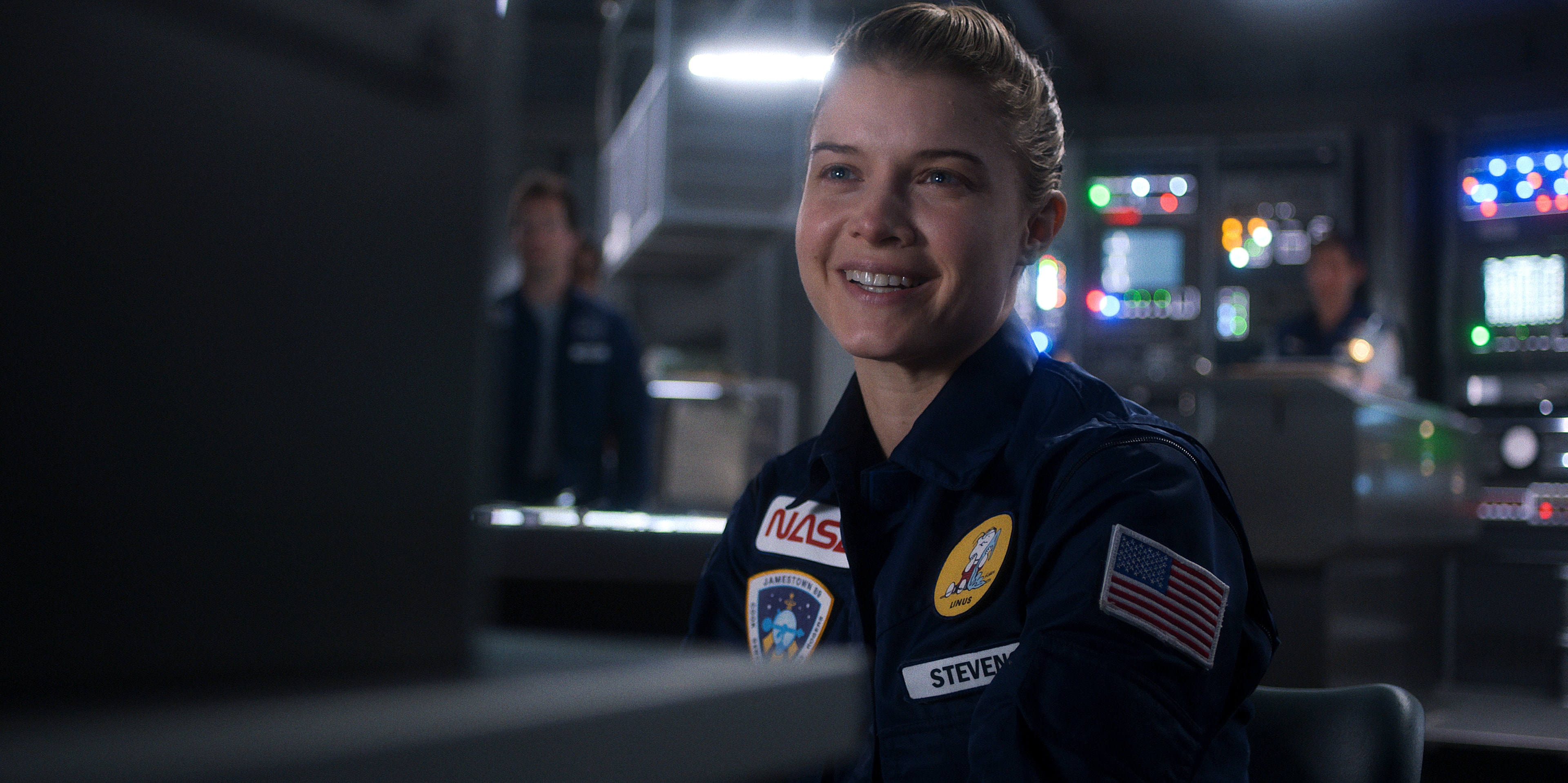 """Astronaut Tracy Stevens (Sarah Jones) is back on the moon and hating it in this week's episode of """"For All Mankind."""""""
