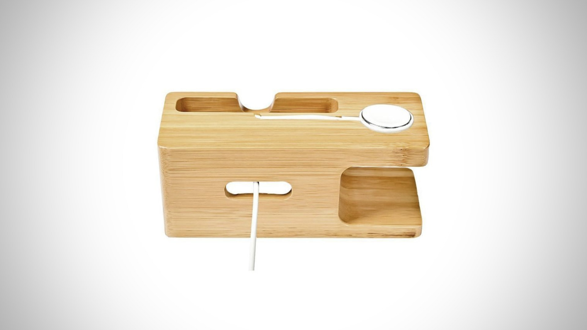 iPhone and Apple Watch dock