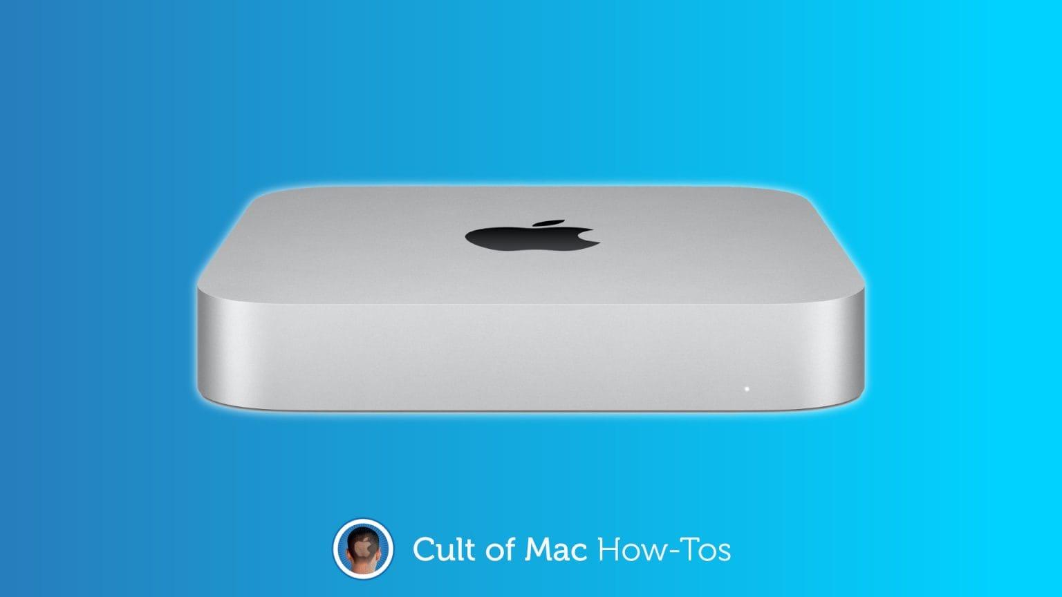 Fix M1 Mac mini display issues