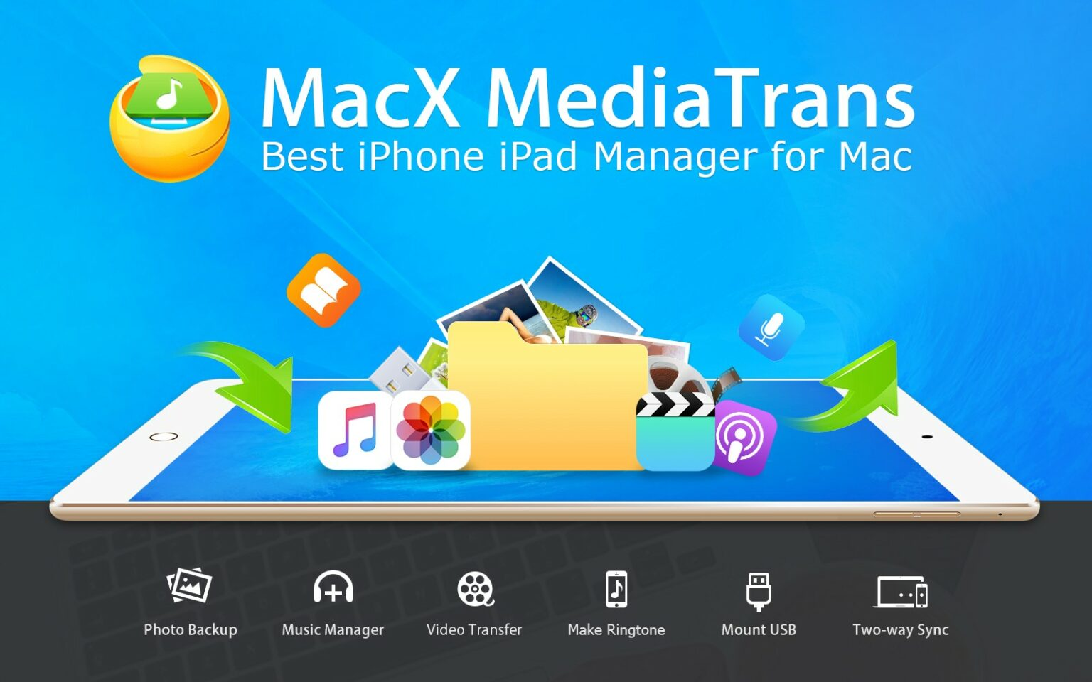Digiarty offers a free giveaway of MacX MediaTrans.