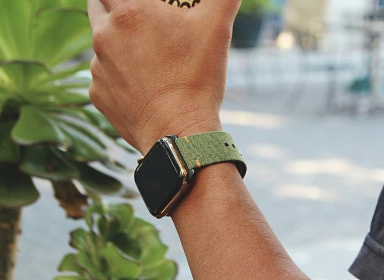 Monowear Urban Canvas for Apple Watch