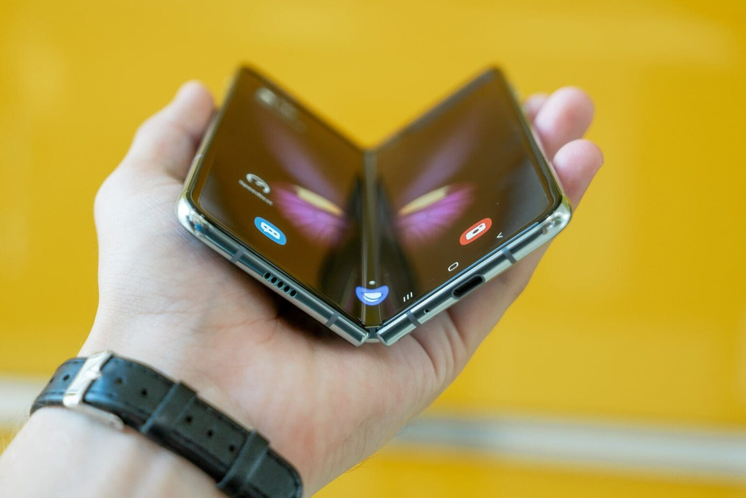 Why should Android users have all the folding fun?