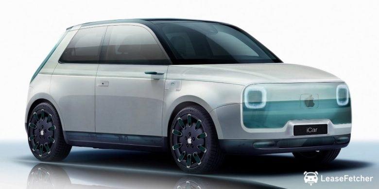 Apple Car: Honda E x iMac G3