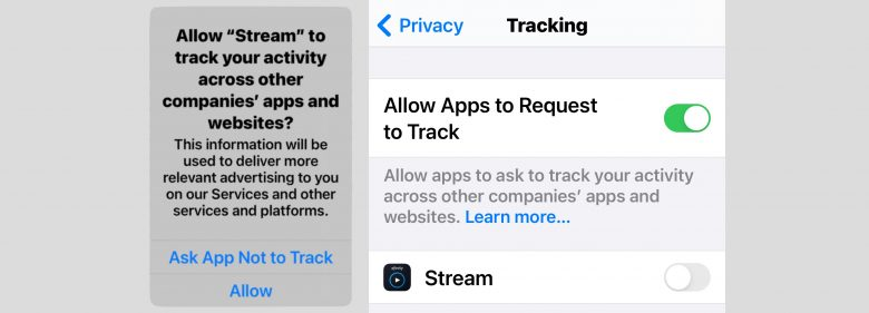 How to allow/prevent apps tracking you with App Tracking Transparency