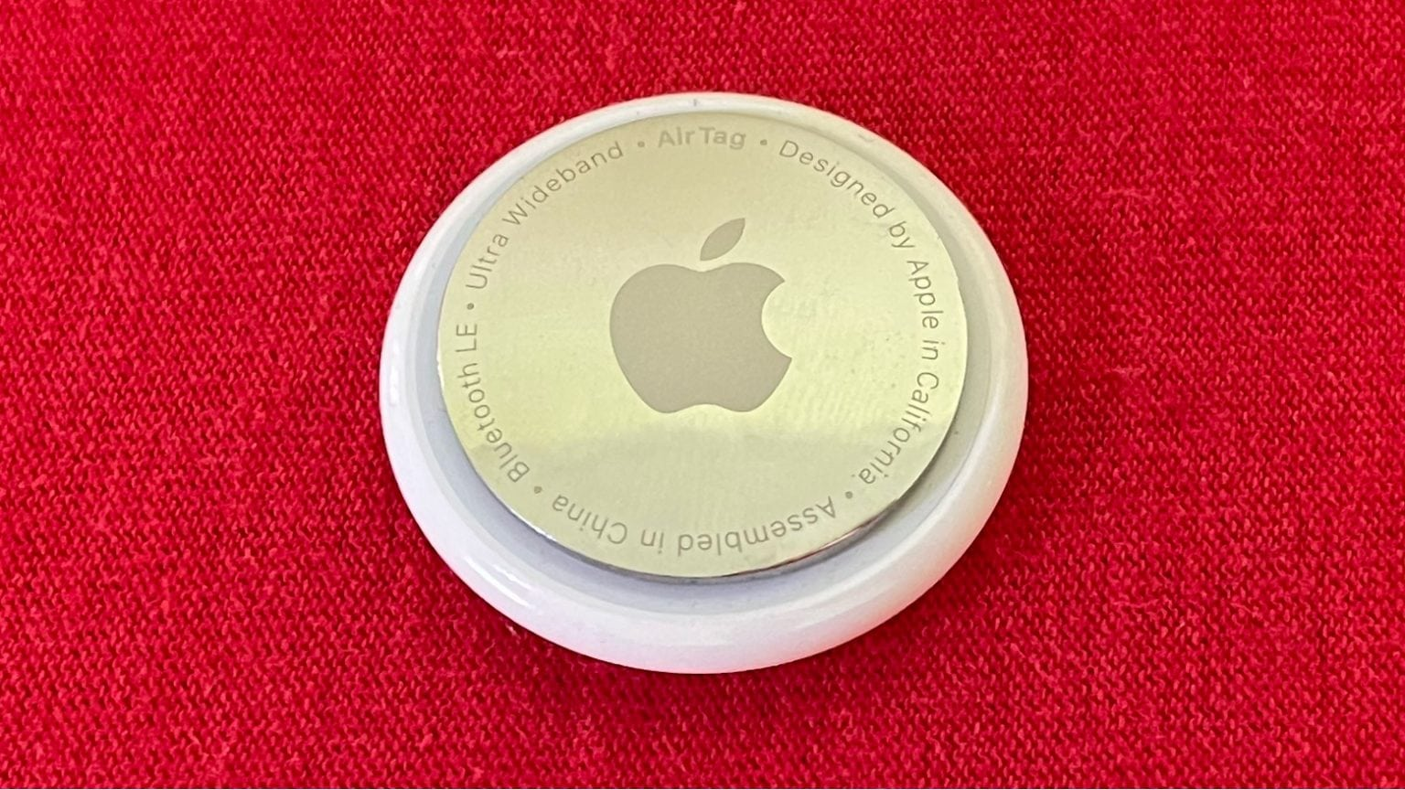 Apple AirTag review. So small, so meh. And where's the $%&# hole, Tim?